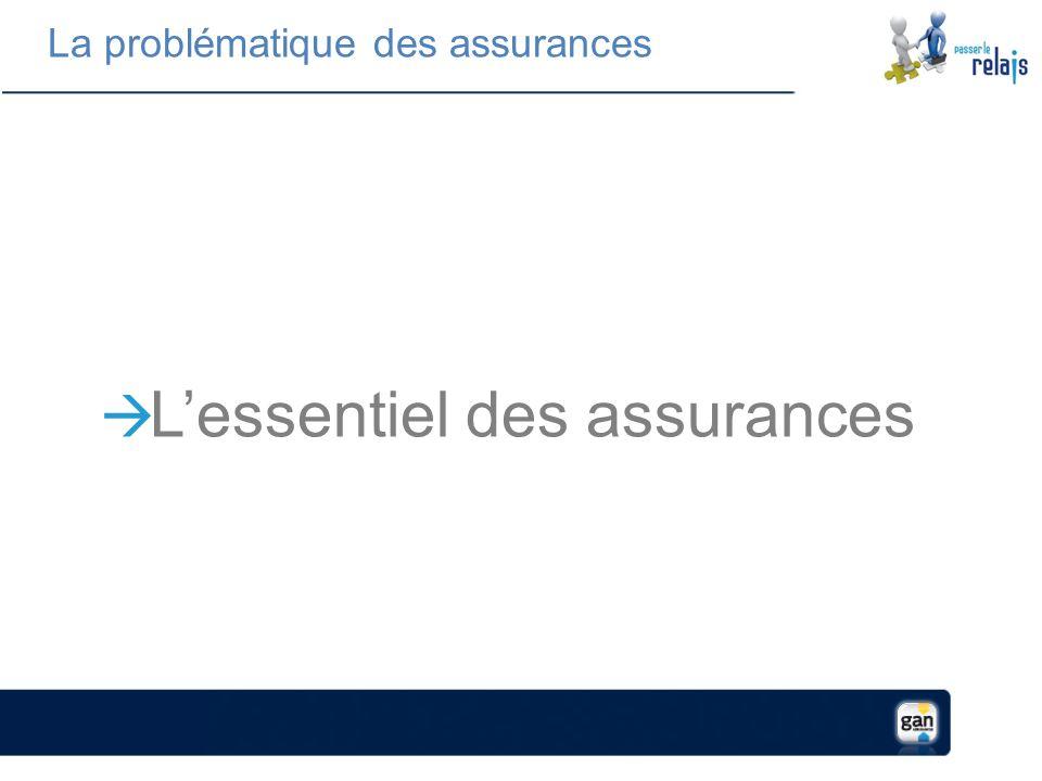 La problématique des assurances Lessentiel des assurances