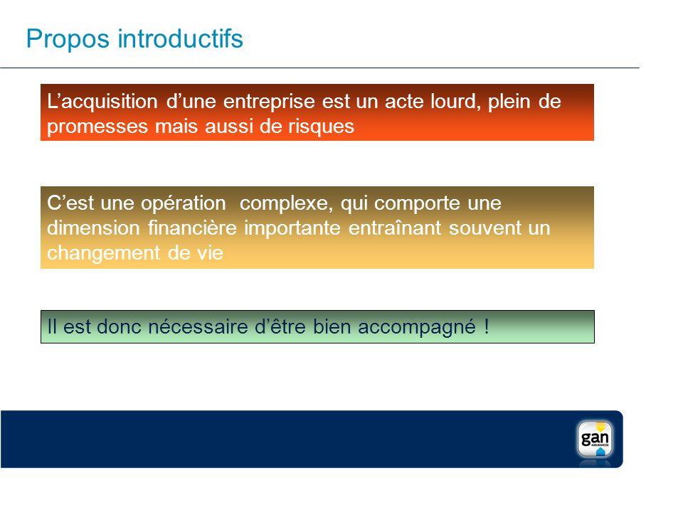 Propos introductifs Lacquisition dune entreprise est un acte lourd, plein de promesses mais aussi de risques Cest une opération complexe, qui comporte