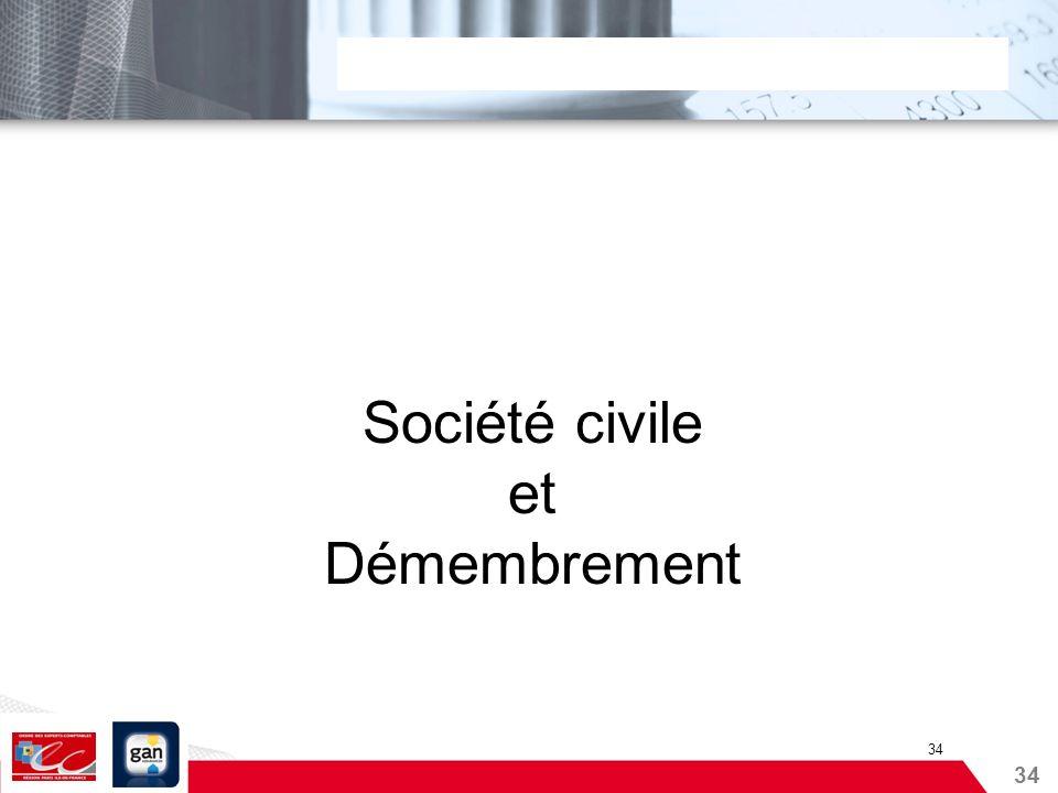 34 Société civile et Démembrement 34