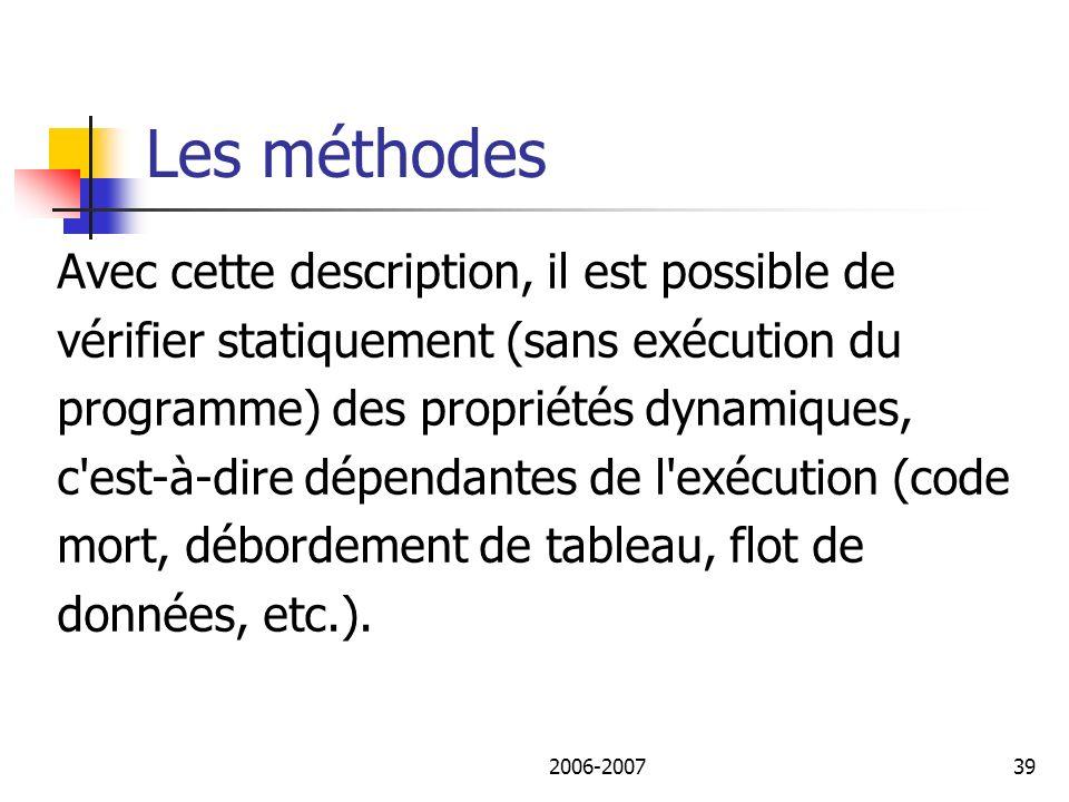 2006-200740 Plan de lexposé I.Différentes utilisations des outils.