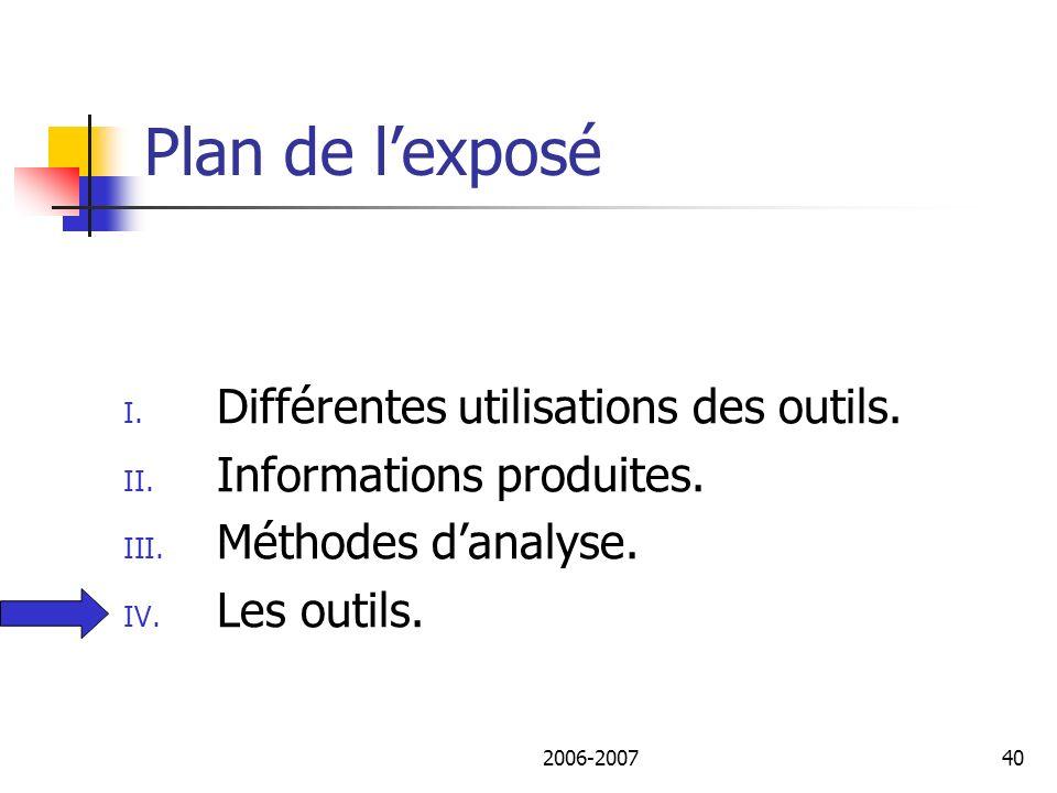 2006-200741 Les outils