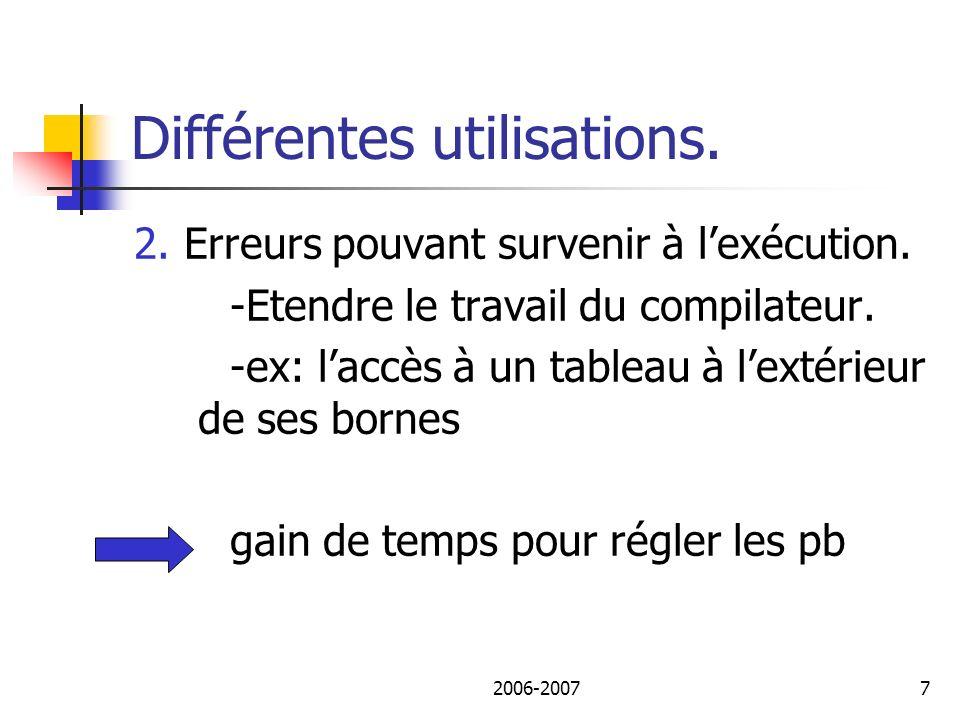2006-20078 Différentes utilisations.3. Le découpage ou slicing.