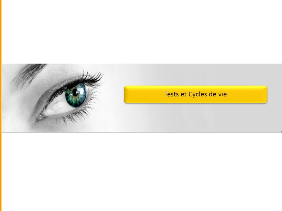 Tests et Cycles de vie