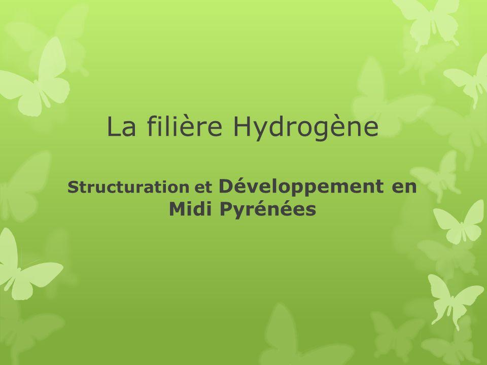 La filière Hydrogène Structuration et Développement en Midi Pyrénées