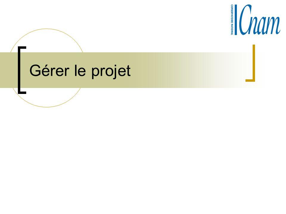 Gérer le projet