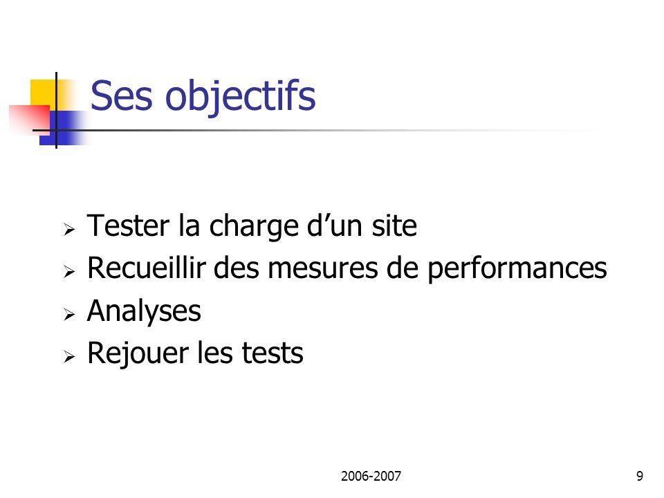 2006-200710 Utilisation Commander Script Collecteur Test