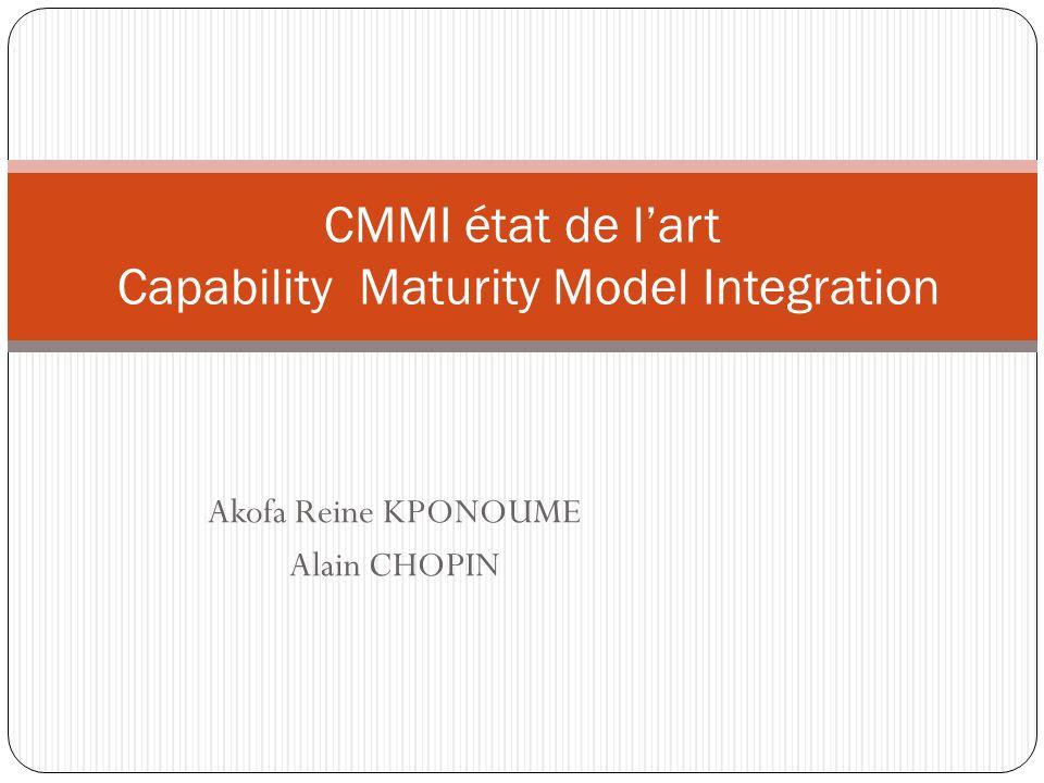 Lamélioration des processus pour des meilleurs produits « Nous avons choisi de faire de la qualité parce que la chance est devenue trop chère » CMMI état de lart Capability Maturity Model Integration