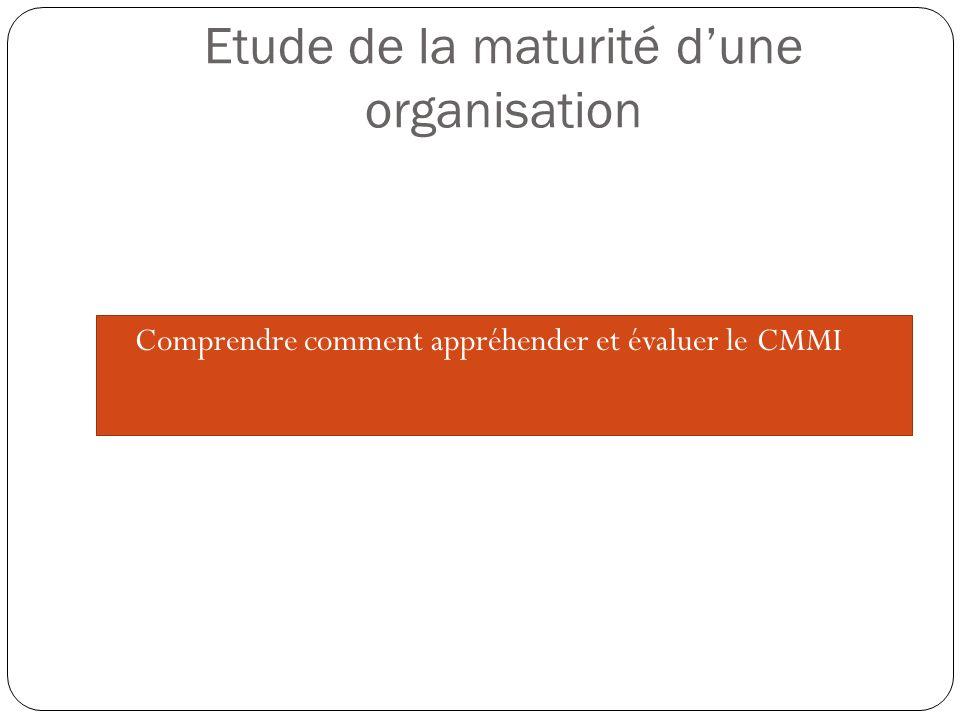Le modèle CMMI 22 domaines de processus groupés dans 4 catégories Innovation et déploiement organisationnels (OID) Définition du processus organisationnel +IPPD (OPD+IPPD) Focalisation sur le processus organisationnel (OPF) Performance du processus organisationnel (OPP) Formation organisationnelle (OT) Gestion des processus Gestion de configuration (CM) Assurance-qualité processus et produit (PPQA) Mesure et analyse (MA) Analyse causale et résolution (CAR) Analyse et prise de décision (DAR) Support Planification de projet (PP) Surveillance et contrôle de projet (PMC) Gestion des accords avec les fournisseurs (SAM) Gestion de projet intégrée +IPPD (IPM+IPPD) Gestion des risques (RSKM) Gestion de projet quantitative (QPM) Gestion de projet Gestion des exigences (REQM) Développement des exigences (RD) Solution technique (TS) Intégration de produit (PI) Vérification (VER) Validation (VAL) Ingénierie