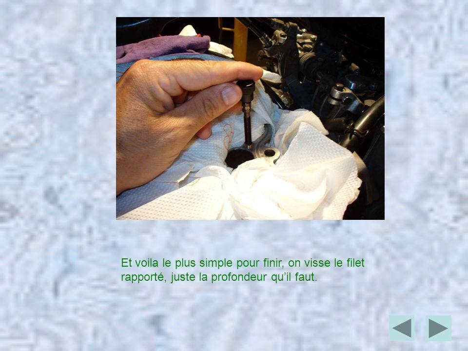 Pour plus dinfo, vous pouvez télécharger les notices ci après: - Les kits AmecaLes kits Ameca - Référence des filetsRéférence des filets Les kits comprennent 6 filets de profondeur de vissage d, le diamètre du filet, exemple pour du M6, la longueur du filet rapporté sera de 6 mm.