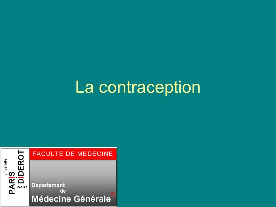 Séminaire femme DMG Paris 7 2010 2 PRE TEST Quels moyens de contraception connaissez vous.