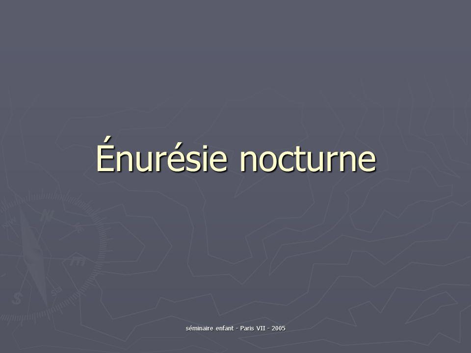 Traitement de lénurésie 3- Les médicaments (3) Limipramine (AD tricyclique- Tofranil) : Limipramine (AD tricyclique- Tofranil) : moins coûteux que la desmopressine.