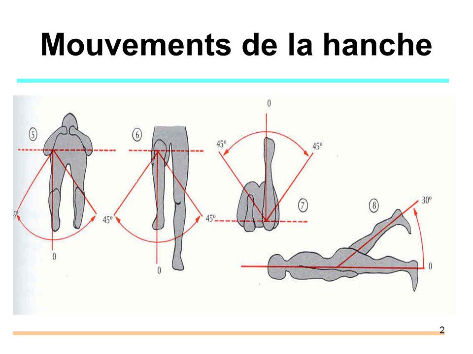 2 Mouvements de la hanche