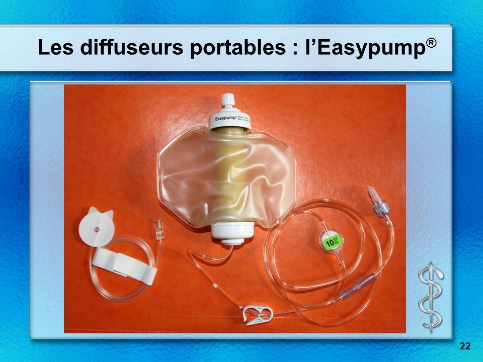 Les diffuseurs portables : lEasypump ® 22