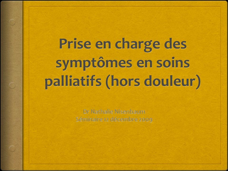 Symptômes respiratoires Encombrement bronchique Dyspnée