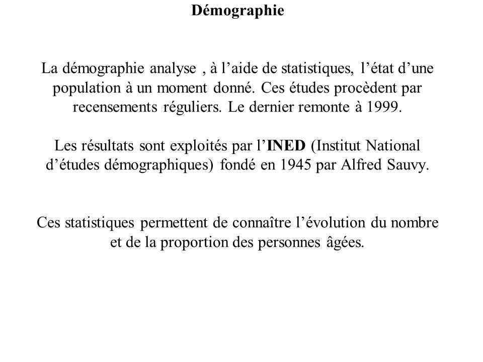 Démographie La démographie analyse, à laide de statistiques, létat dune population à un moment donné. Ces études procèdent par recensements réguliers.