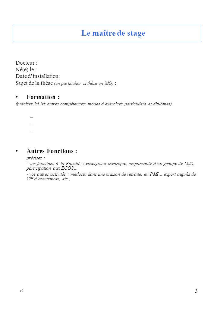 v2 4 Le cabinet médical Adresse : Code dentrée : Bâtiment et é tage : Moyens daccès Indiquez précisément le nom des stations.