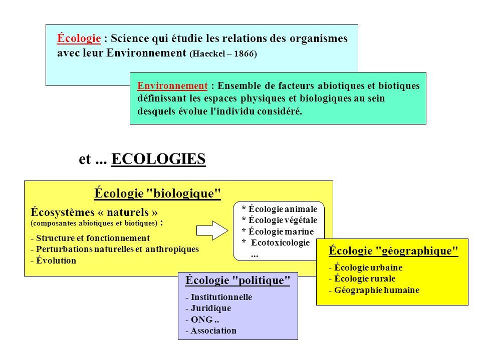 (Ramade F.) Mécanisme deutrophisation des milieux aquatiques
