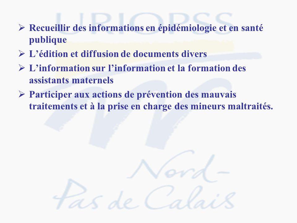Recueillir des informations en épidémiologie et en santé publique Lédition et diffusion de documents divers Linformation sur linformation et la format