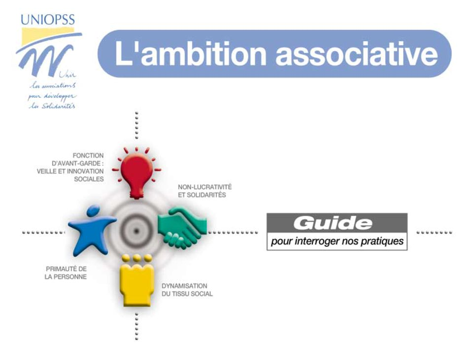 1 Lambition associative Guide pour interroger nos pratiques