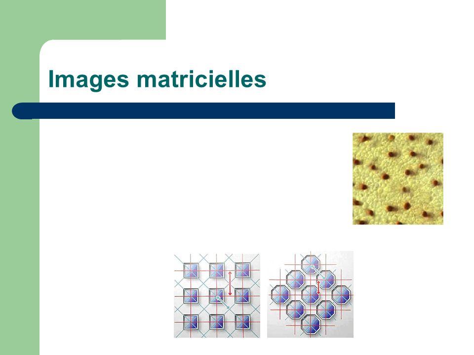 Images matricielles