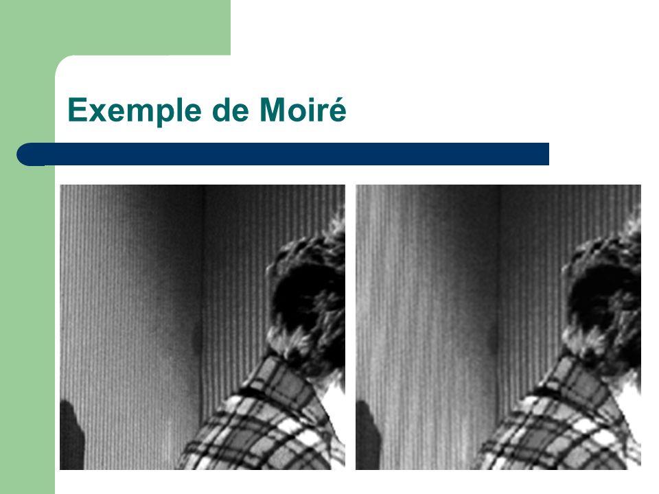 Exemple de Moiré
