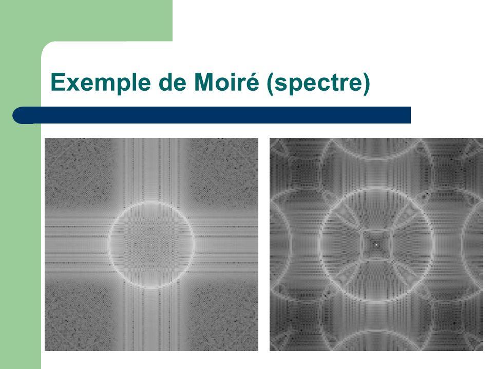Exemple de Moiré (spectre)