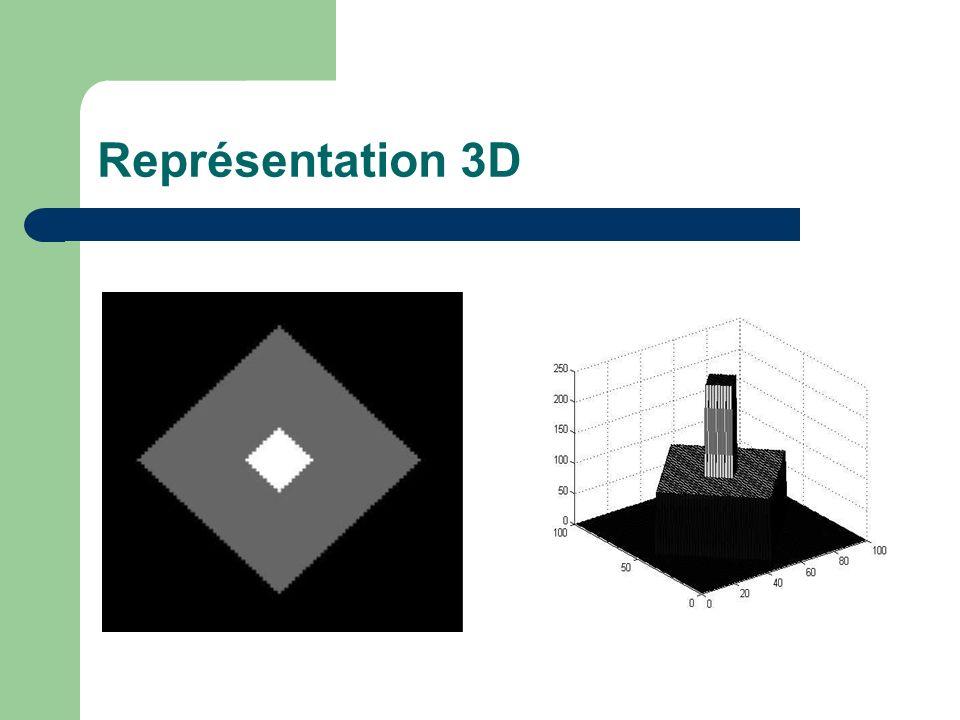 Représentation 3D