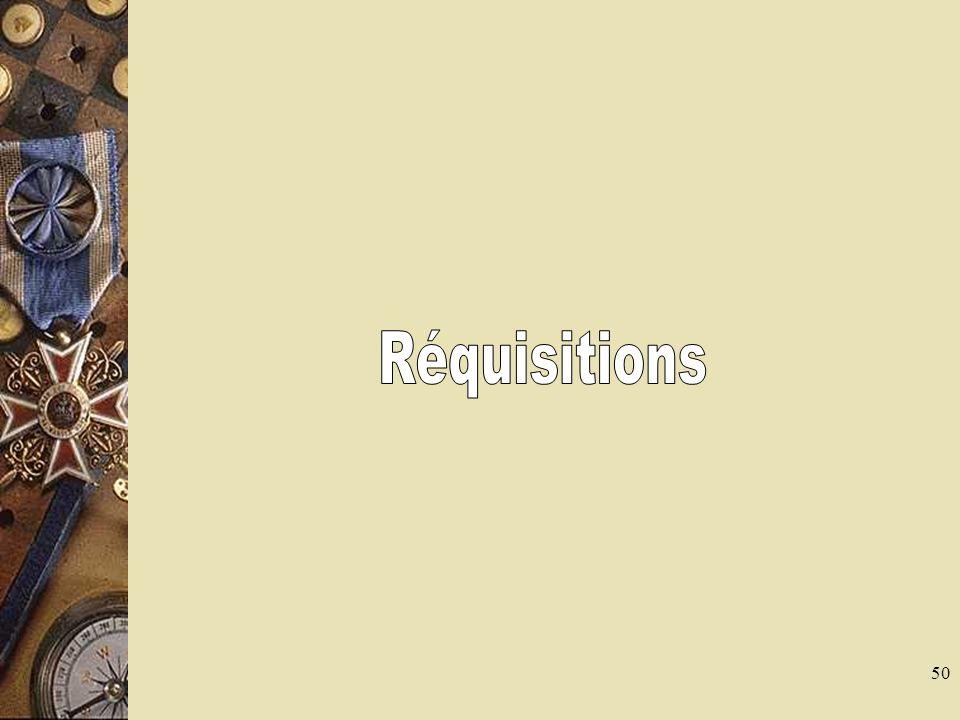 51 Définition La réquisition est lacte par lequel une autorité judiciaire ou administrative fait procéder à un acte médico-légal qui ne peut être différé La personne requise devient lors de cet examen un auxiliaire de justice dans le cadre de la mission qui est précisée dans la réquisition
