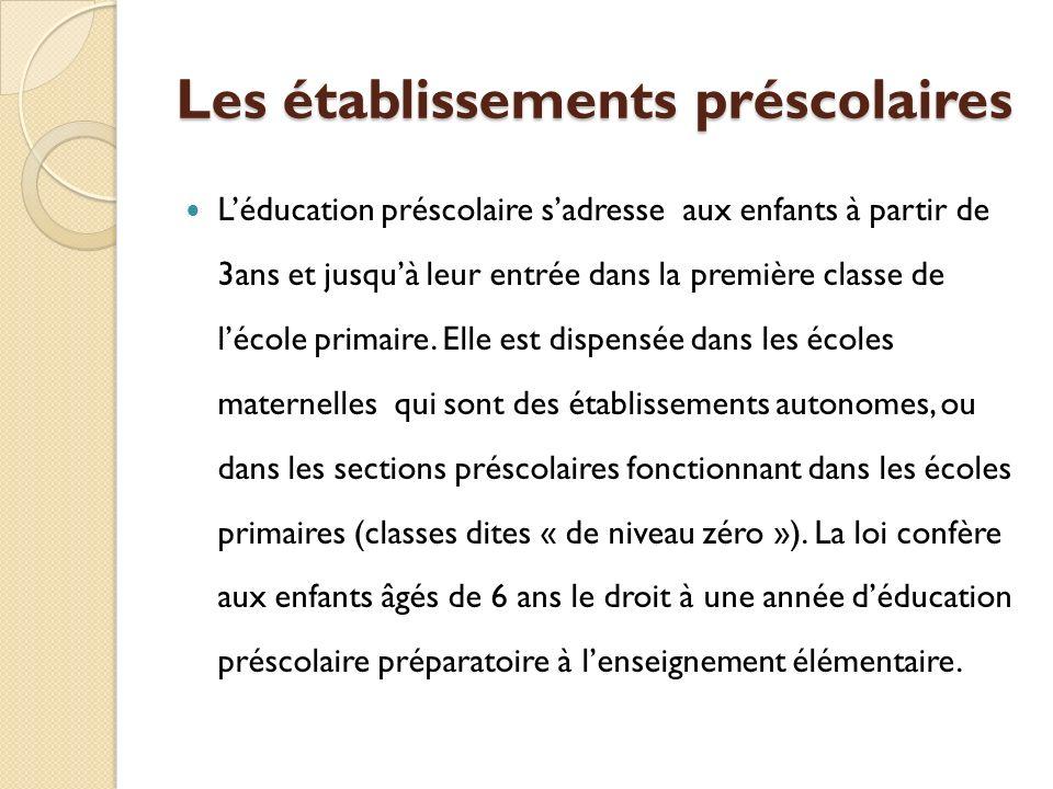 Les écoles primaires Lécole élémentaire forme en 6 ans les enfants de 7 à 13 ans.