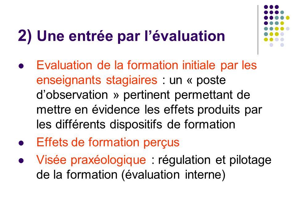 « Démarche qualité » : typologie de Van Damme (2004) 1.