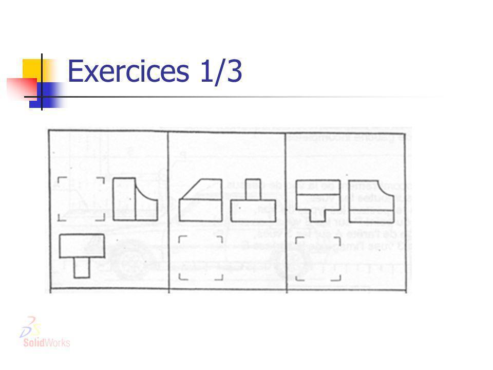 Exercices 1/3