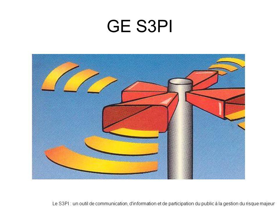 Le S3PI : un outil de communication, d'information et de participation du public à la gestion du risque majeur GE S3PI