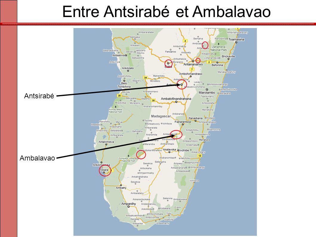 Entre Antsirabé et Ambalavao Antsirabé Ambalavao