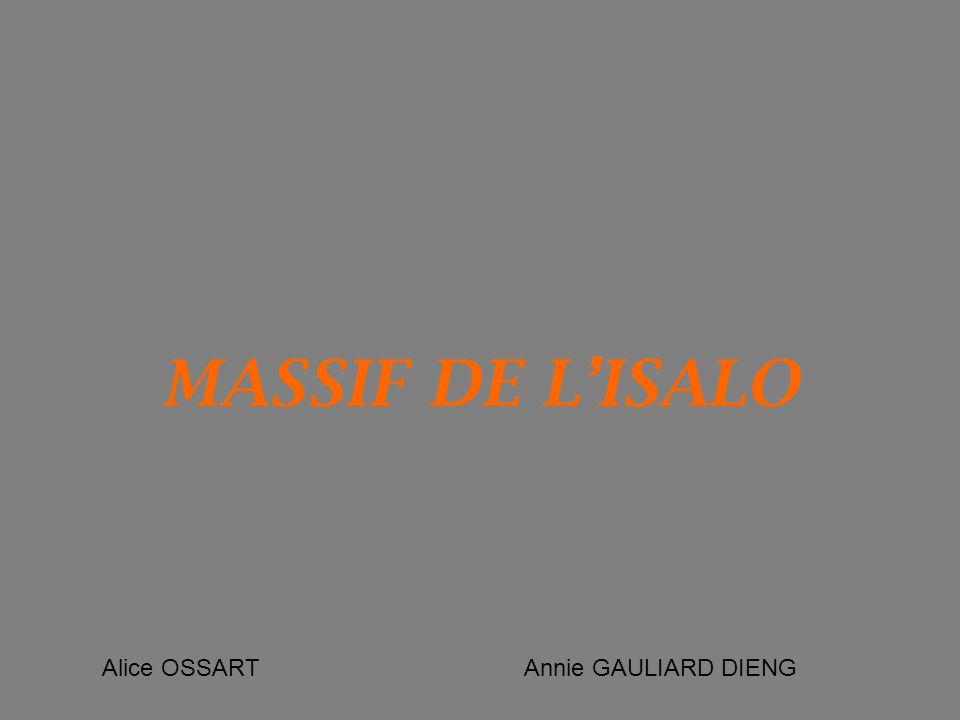 MASSIF DE LISALO Alice OSSART Annie GAULIARD DIENG