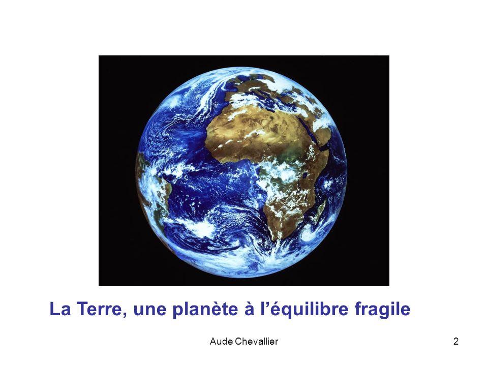 Aude Chevallier23 Évolution de la teneur en CO 2 dans latmosphère depuis lan 800 Évolution de la teneur en CO 2 dans latmosphère depuis 1950
