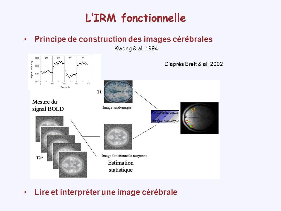 LIRM fonctionnelle La variabilité interindividuelle Images anatomiques MRIcro - fMRI DATA CENTER
