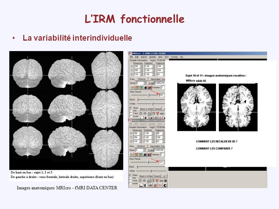 Développement dun logiciel pédagogique dutilisation des images cérébrales Objectifs méthodologiques –Apprendre à se repérer dans les différents plans de coupe Logiciel Sylvius, Purves, 2000