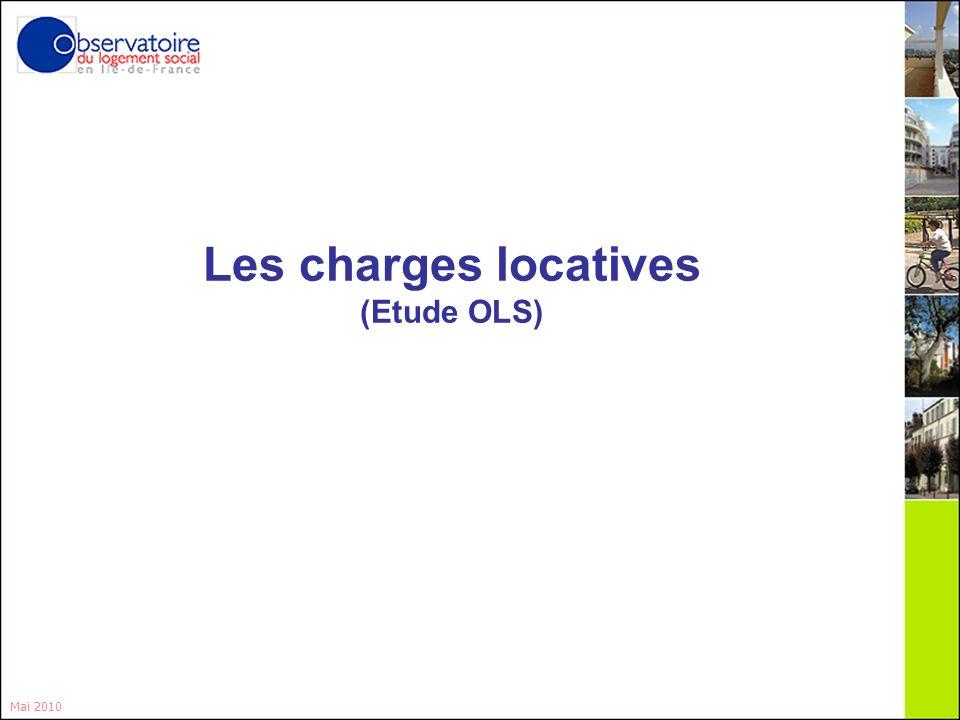 8 Les charges locatives (Etude OLS) Mai 2010