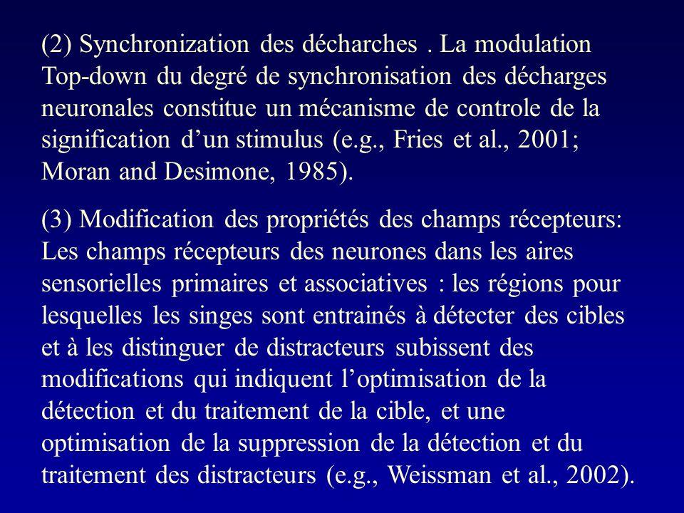 (2) Synchronization des décharches.