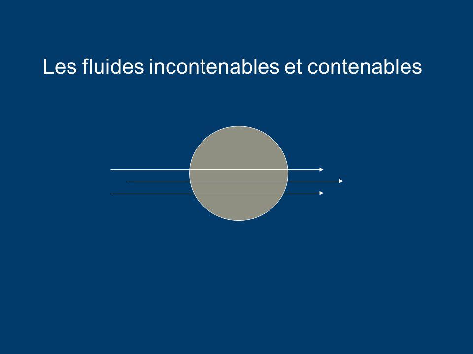 Les fluides incontenables et contenables