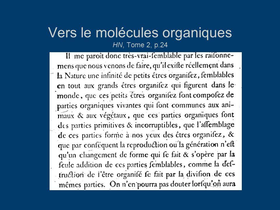 Vers le molécules organiques HN, Tome 2, p.24