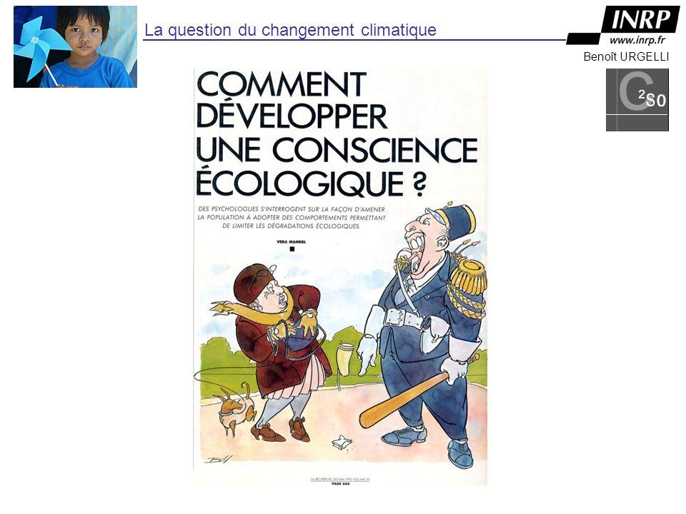 Benoît URGELLI La question du changement climatique