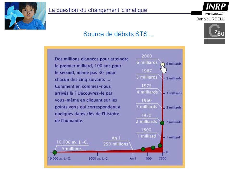 Benoît URGELLI La question du changement climatique Source de débats STS…