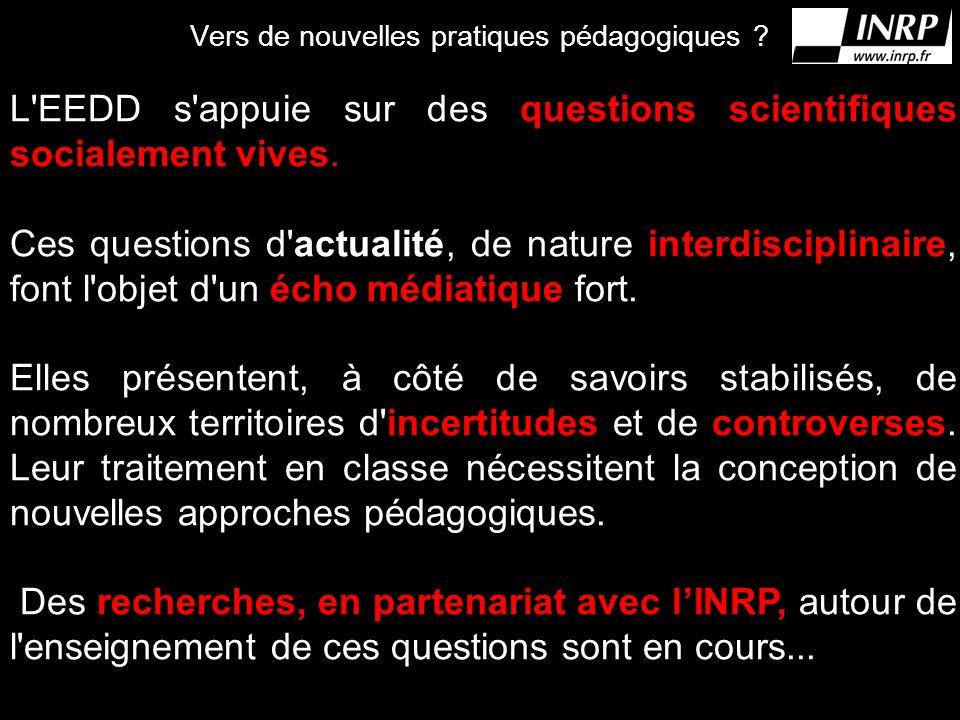 Vers de nouvelles pratiques pédagogiques .