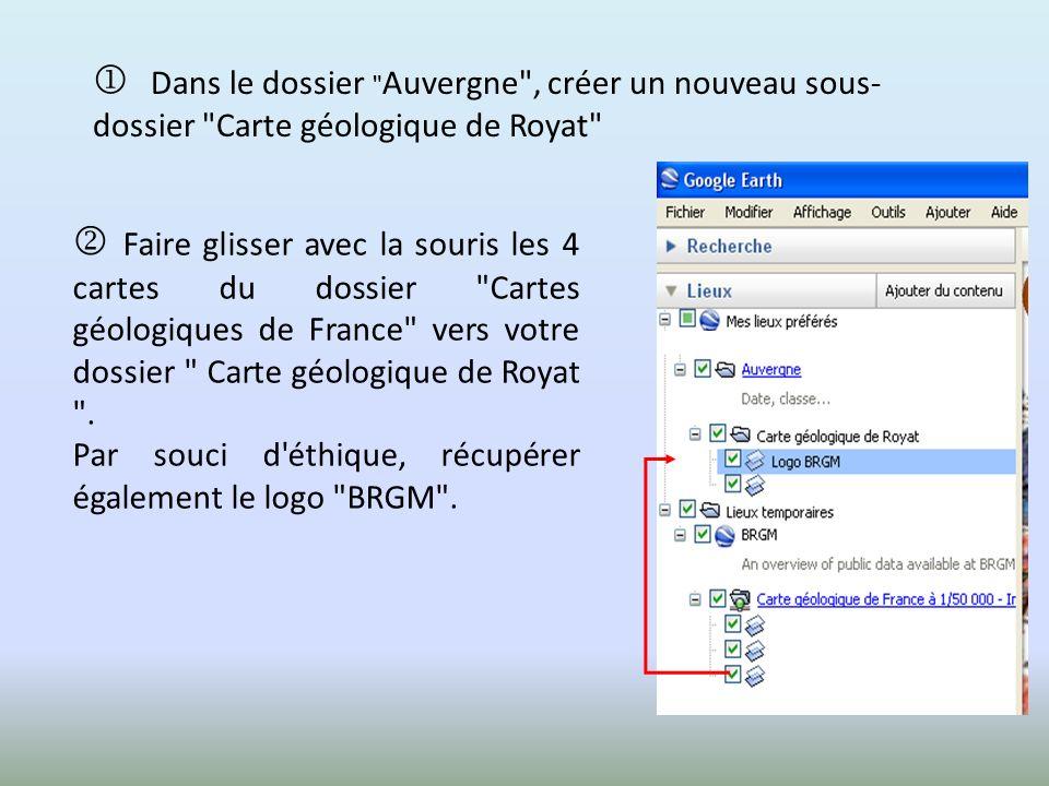 La démarche complète de capture d une carte géologique du BRGM est détaillée sur Eduterre – Usages à la rubrique: Autoformation http://acces.inrp.fr/eduterre-usages/formations/cartes- geol/utiliser-les-cartes-geologiques
