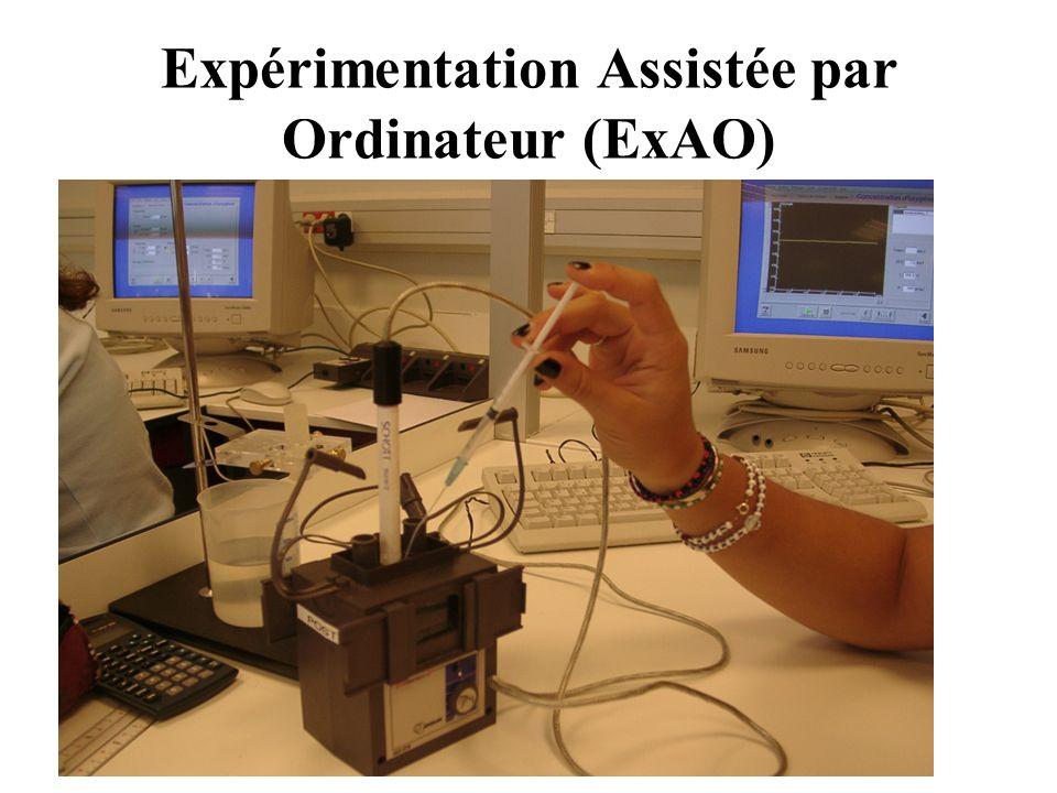 Expérimentation Assistée par Ordinateur (ExAO)