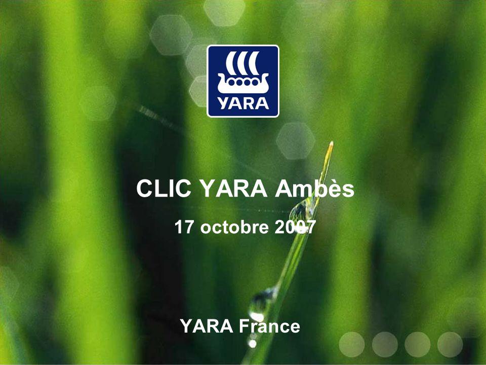 CLIC YARA Ambès 17 octobre 2007 YARA France