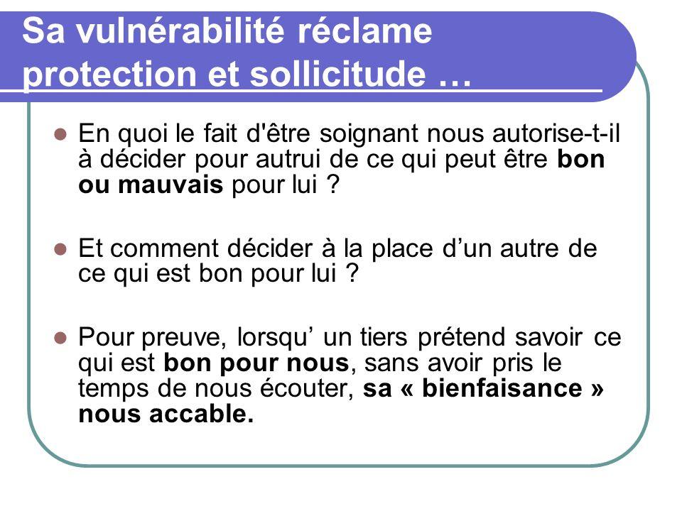 Le principe de précaution Le principe de précaution appliqué à des individus vulnérable nest pas éthique.