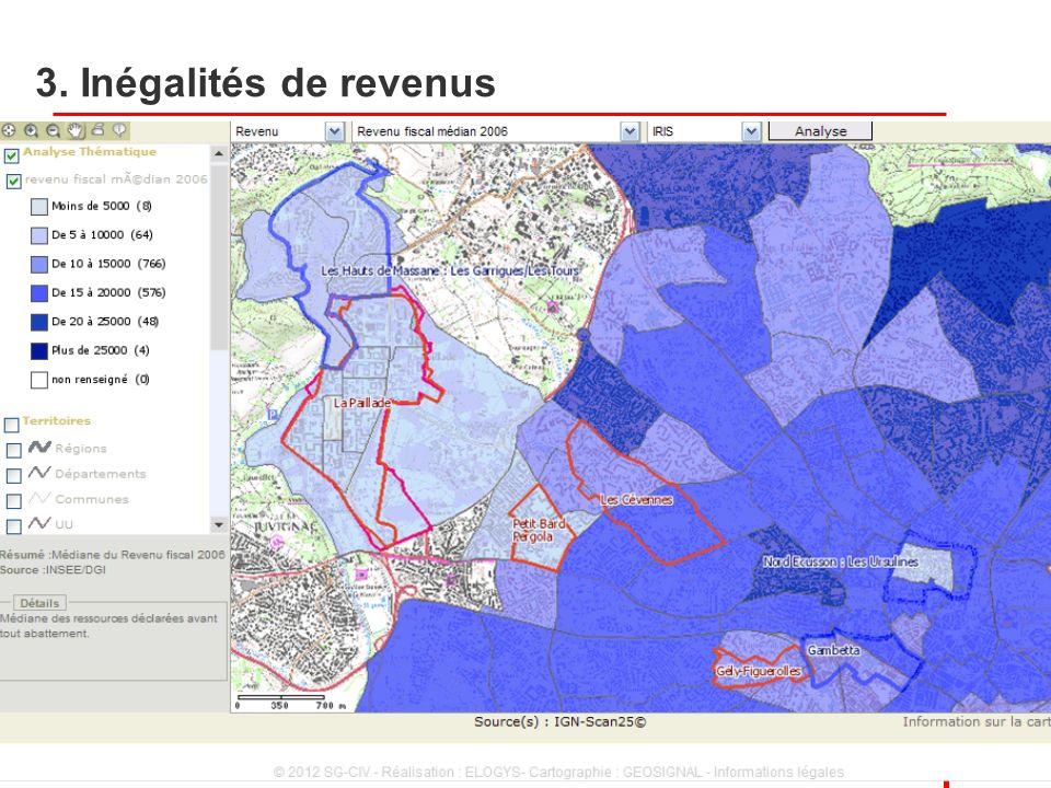3. Inégalités de revenus 2 Villes et territoires, 22 novembre 2012