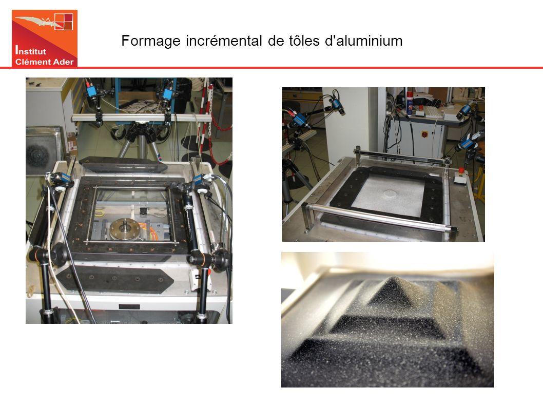 Formage incrémental de tôles d aluminium